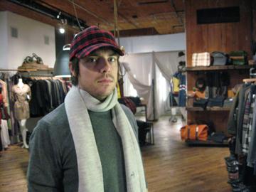 A.P.C. | Wool | Baseball Cap | $110