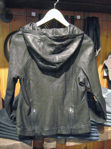 Mirage Asymmetrical Motorcycle Hoodie Jacket