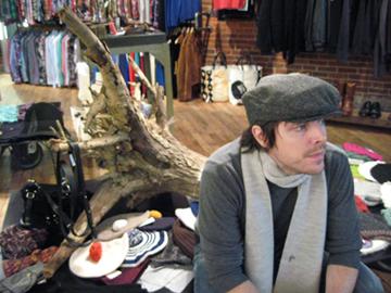 Steven Alan | Wool | Grey Herringbone | Paperboy Cap | $135