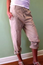 SLOUCHY CHINO. 100% Cotton Chino