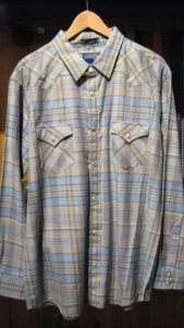 Epic Shirt. Vintage Fit. Western Snap. Madras Cotton