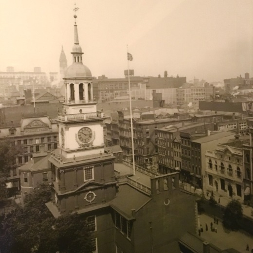 Independence Hall Old City Philadelphia 1912, became a UNESCO World Heritage site in 1979