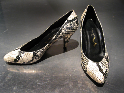 Sugarcube | Vintage Snake Skin Shoes