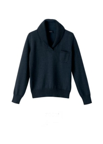Shawl-Collar Pullover