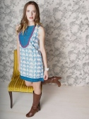 Boulevard dress blue