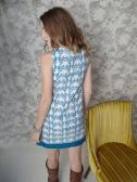 Boulevard dress blue. back