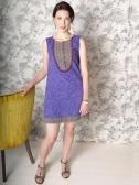 Boulevard dress purple