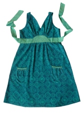 Edgewater dress blue