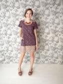 Grant Park dress purple