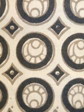 Oak Park dress black and white. detail