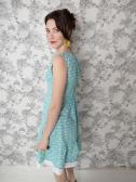 Oak Park dress Teal_Detail