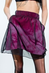 Earl Salko Burgundy Skirt