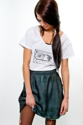 Earl Salko Cassette Tee Shirt with Skirt