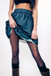 Earl Salko Teal Skirt
