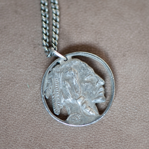18 Waits Native Son Necklace