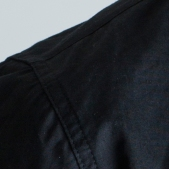 BLACKMANUFACTURING® Black-Camo BD, Japanese Broadcloth Shirting, 100% Cotton, Camo Detailing. Made in the U.S.A.