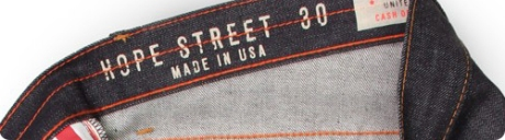 Williamsburg Garment Company Hope Street Made in the USA