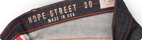Williamsburg Garment Company Hope Street Made in the USA