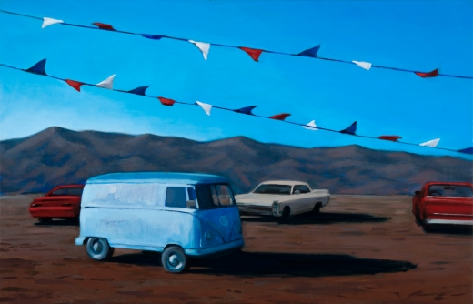 Katherine Fraser, American Dream, painting