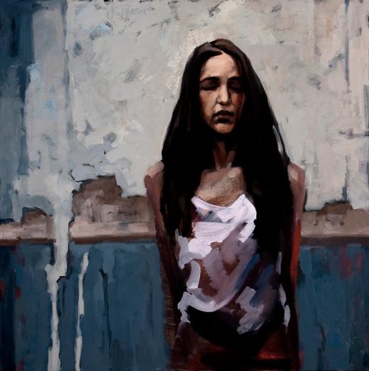 Katherine Fraser, Grace, painting
